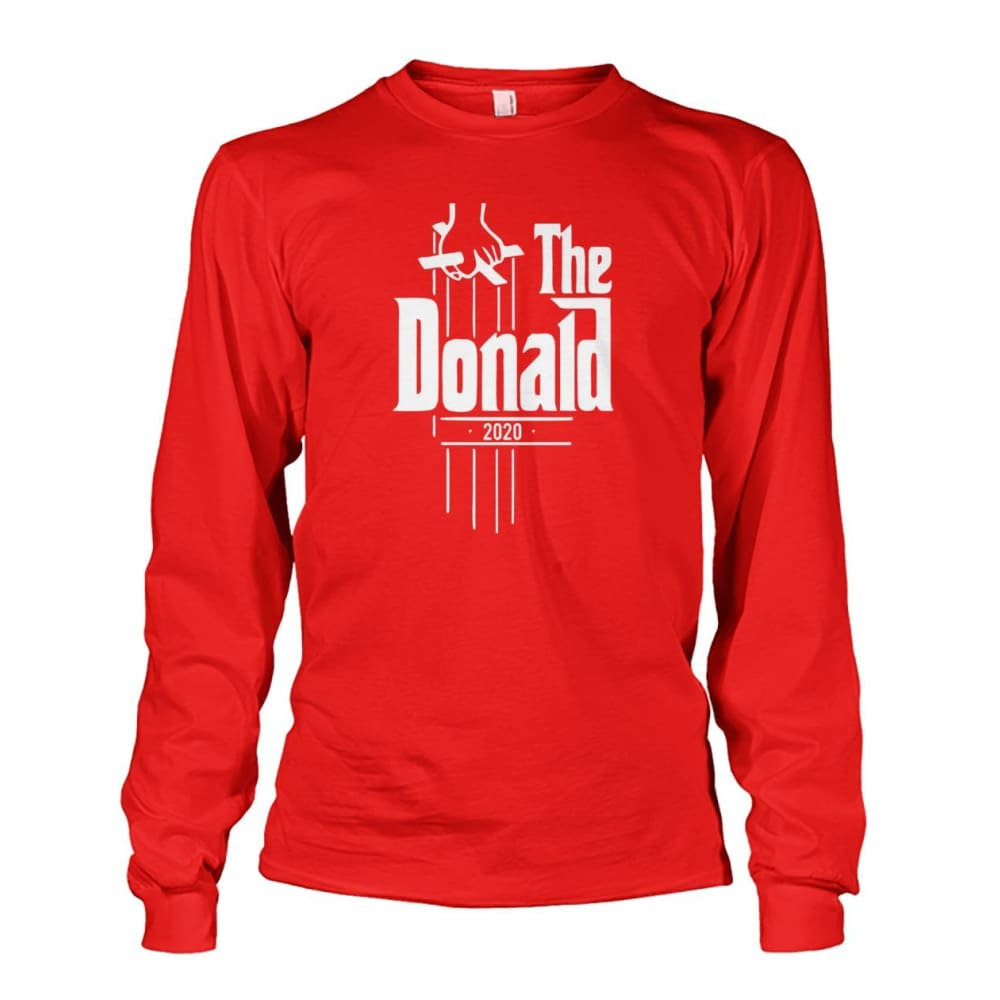 The Donald 2020 Long Sleeve - Red / S - Long Sleeves