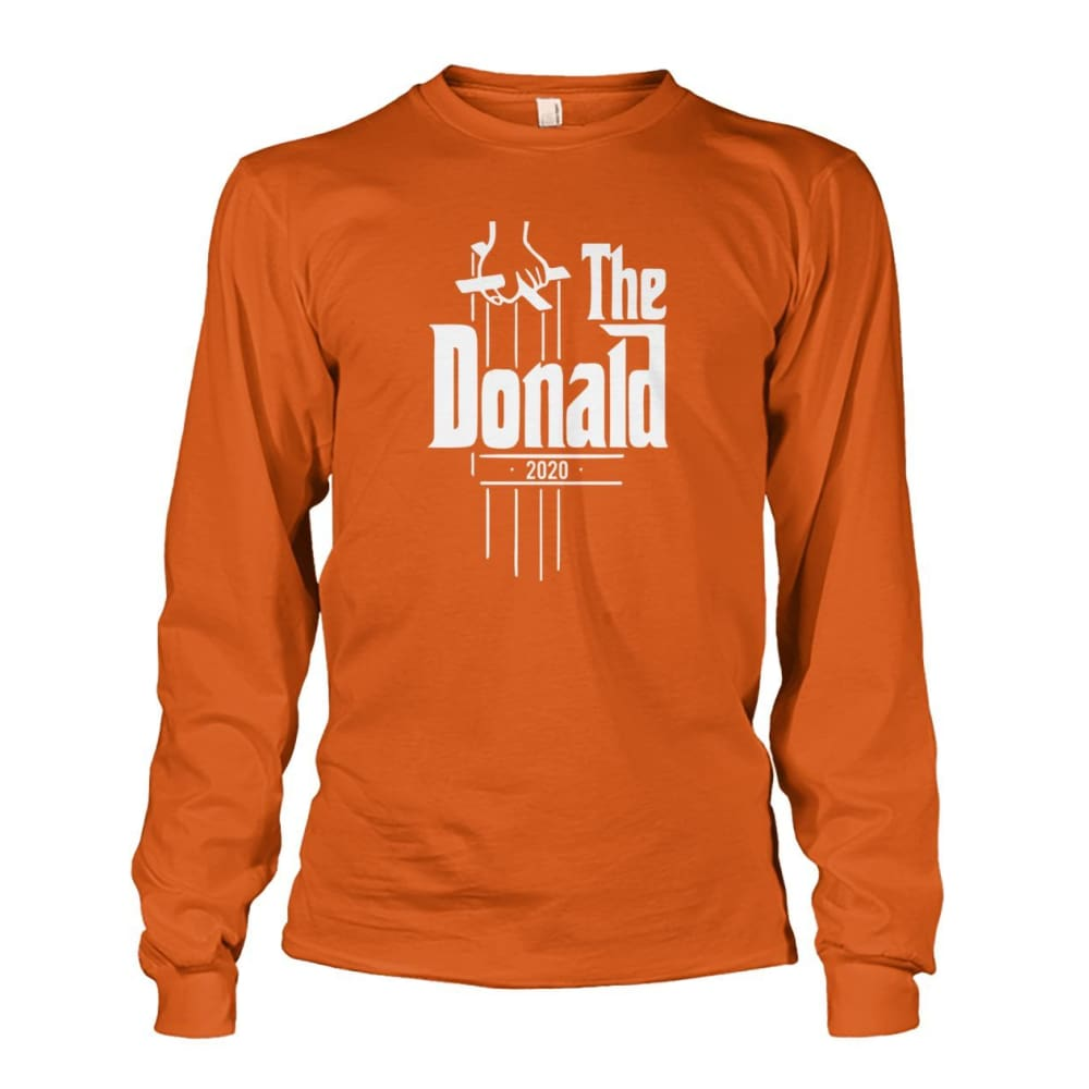 The Donald 2020 Long Sleeve - Texas Orange / S - Long Sleeves