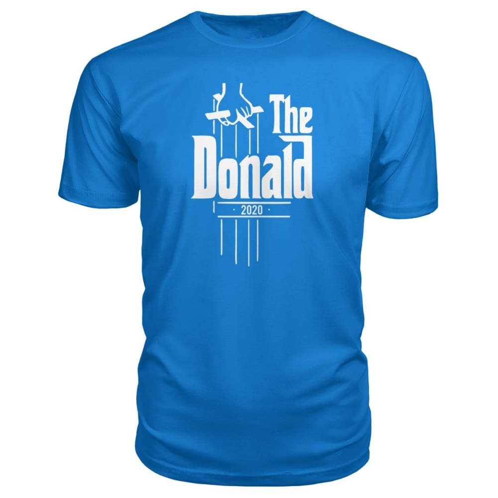The Donald 2020 Premium Tee - Royal Blue / S - Short Sleeves