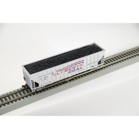 Image of Trump 100 Day Hopper Liberty Coal Toy Train Piece (CHOOSE YOUR SCALE AND TRACK)