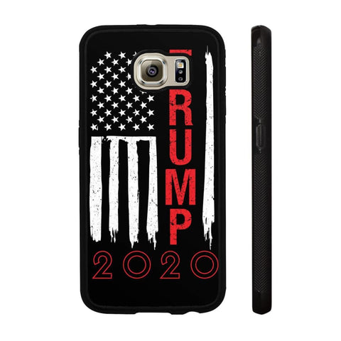 Image of Trump 2020 Flag Phone Cases - Black / M / Samsung Galaxy S6 - Phone Cases