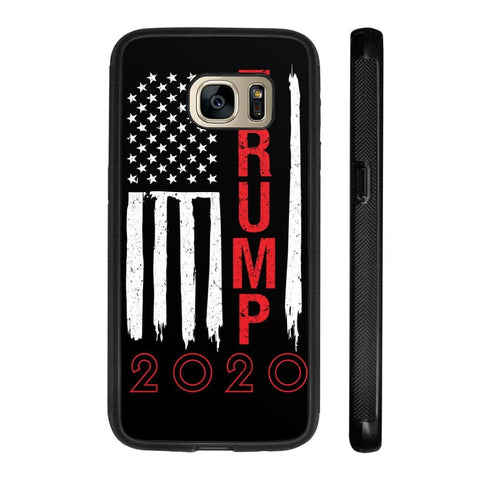 Image of Trump 2020 Flag Phone Cases - Black / M / Samsung Galaxy S7 - Phone Cases