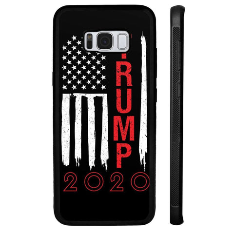 Trump 2020 Flag Phone Cases - Black / M / Samsung Galaxy S8 Plus - Phone Cases