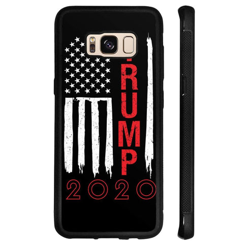 Image of Trump 2020 Flag Phone Cases - Black / M / Samsung Galaxy S8 - Phone Cases