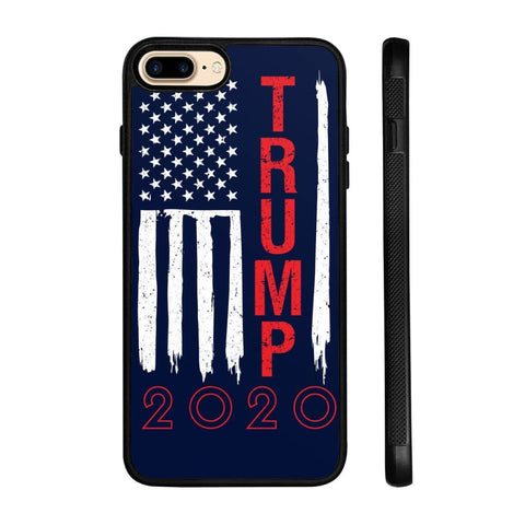 Image of Trump 2020 Flag Phone Cases - Navy / M / iPhone 7+ Case - Phone Cases