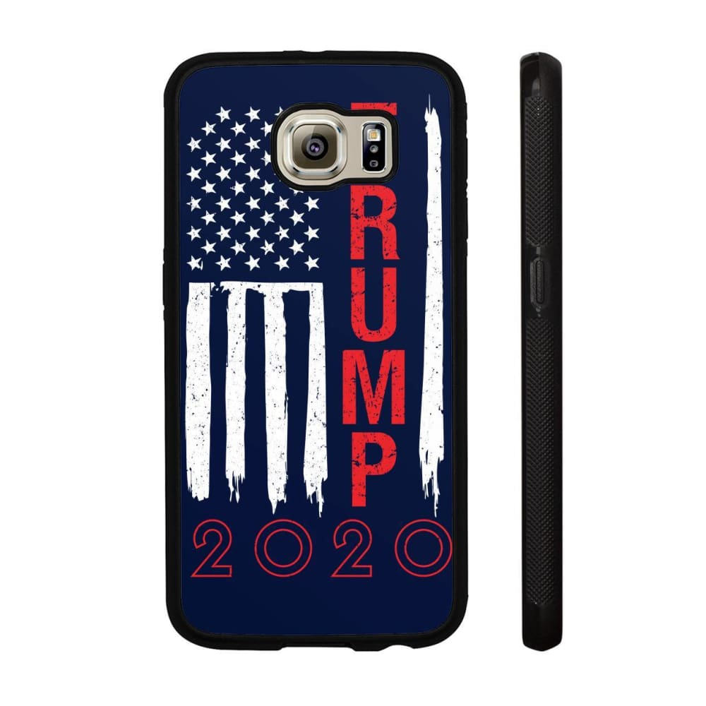 Trump 2020 Flag Phone Cases - Navy / M / Samsung Galaxy S6 - Phone Cases