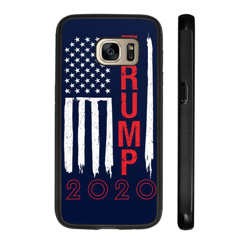 Image of Trump 2020 Flag Phone Cases - Navy / M / Samsung Galaxy S7 - Phone Cases
