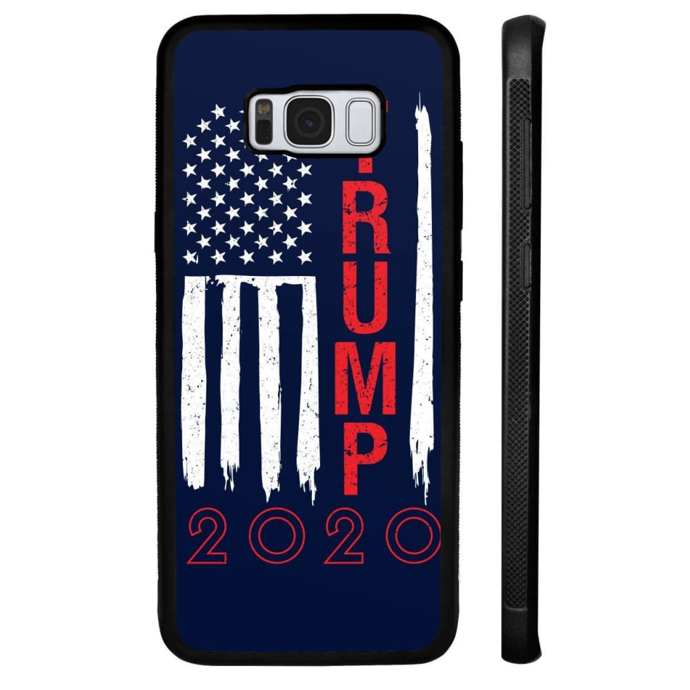 Trump 2020 Flag Phone Cases - Navy / M / Samsung Galaxy S8 Plus - Phone Cases