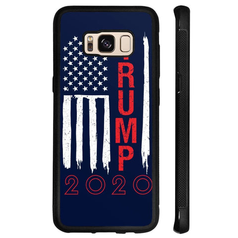 Image of Trump 2020 Flag Phone Cases - Navy / M / Samsung Galaxy S8 - Phone Cases