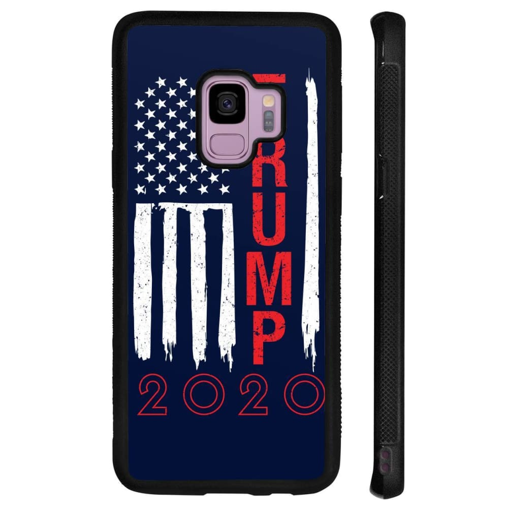 Trump 2020 Flag Phone Cases - Navy / M / Samsung Galaxy S9 - Phone Cases