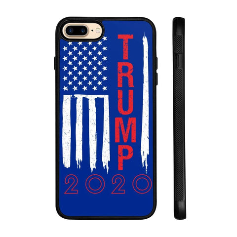 Image of Trump 2020 Flag Phone Cases - Royal / M / iPhone 7+ Case - Phone Cases