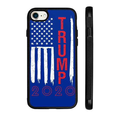 Image of Trump 2020 Flag Phone Cases - Royal / M / iPhone 8 Case - Phone Cases