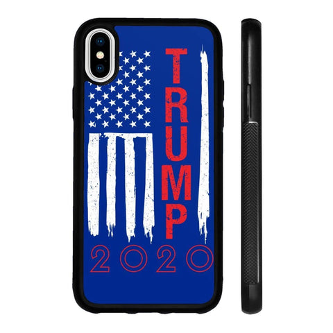 Image of Trump 2020 Flag Phone Cases - Royal / M / iPhone X Case - Phone Cases