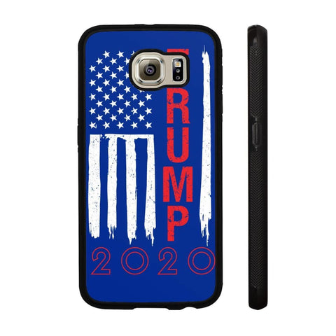 Image of Trump 2020 Flag Phone Cases - Royal / M / Samsung Galaxy S6 - Phone Cases