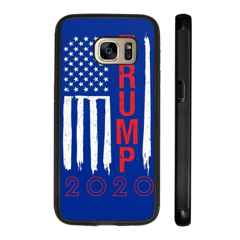 Image of Trump 2020 Flag Phone Cases - Royal / M / Samsung Galaxy S7 - Phone Cases