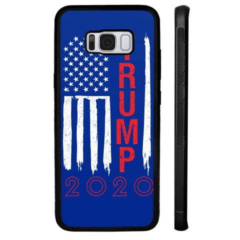 Image of Trump 2020 Flag Phone Cases - Royal / M / Samsung Galaxy S8 Plus - Phone Cases