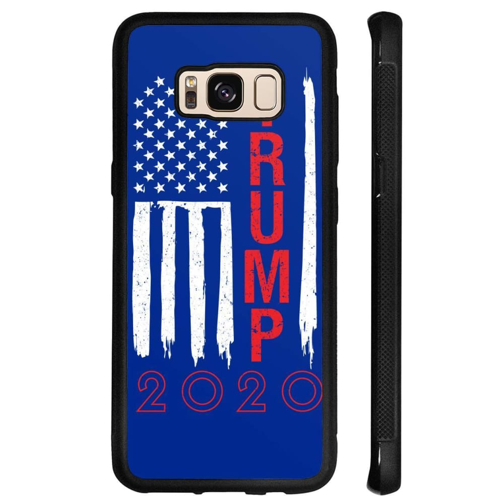 Trump 2020 Flag Phone Cases - Royal / M / Samsung Galaxy S8 - Phone Cases