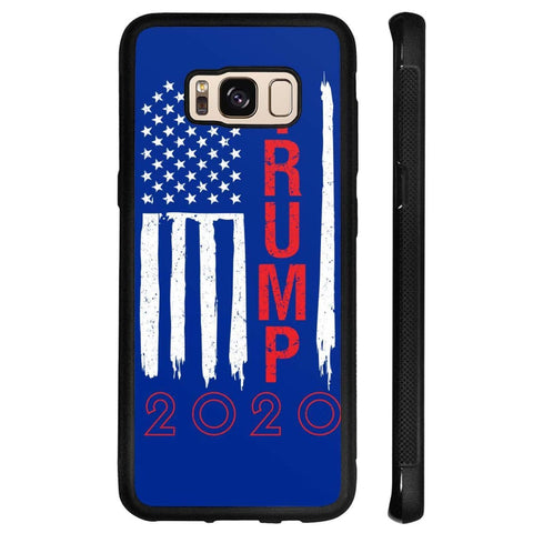 Image of Trump 2020 Flag Phone Cases - Royal / M / Samsung Galaxy S8 - Phone Cases
