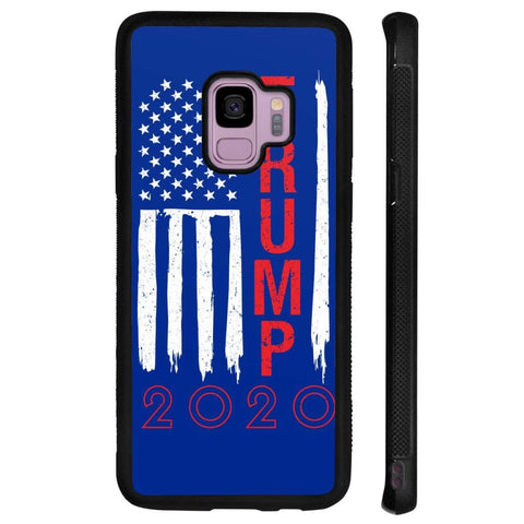 Image of Trump 2020 Flag Phone Cases - Royal / M / Samsung Galaxy S9 - Phone Cases