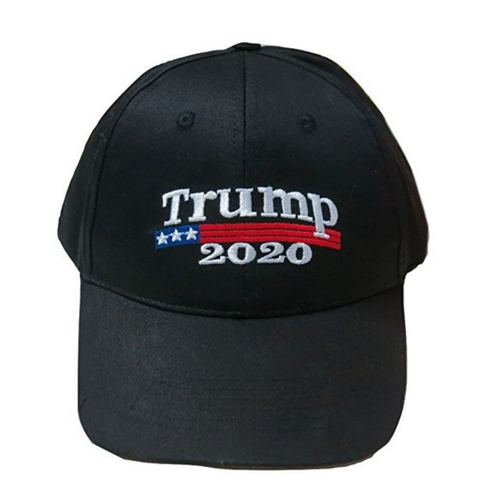 Trump 2020 Hat - Black - Headwear