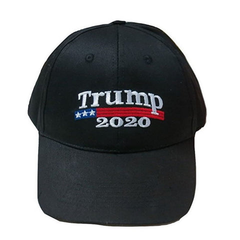 Image of Trump 2020 Hat - Black - Headwear