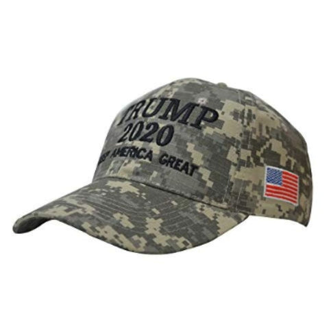 Image of Trump 2020 Hat - Digital Camo