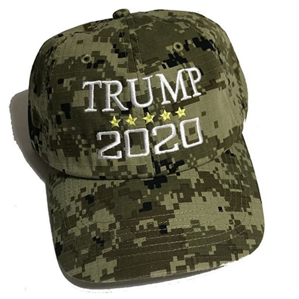 Trump 2020 Hat - Digital Camo - Headwear
