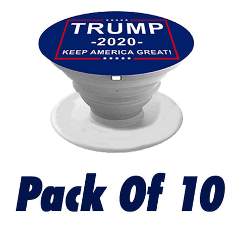Trump 2020 Phone Grip And Stand (10 Pack)