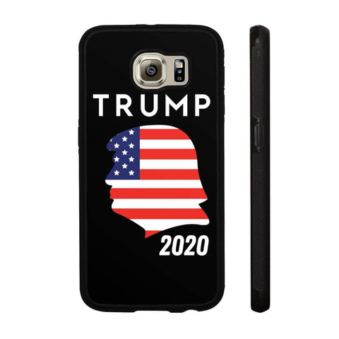 Trump 2020 Silhouette Phone Cases - Black / M / Samsung Galaxy S6 - Phone Cases