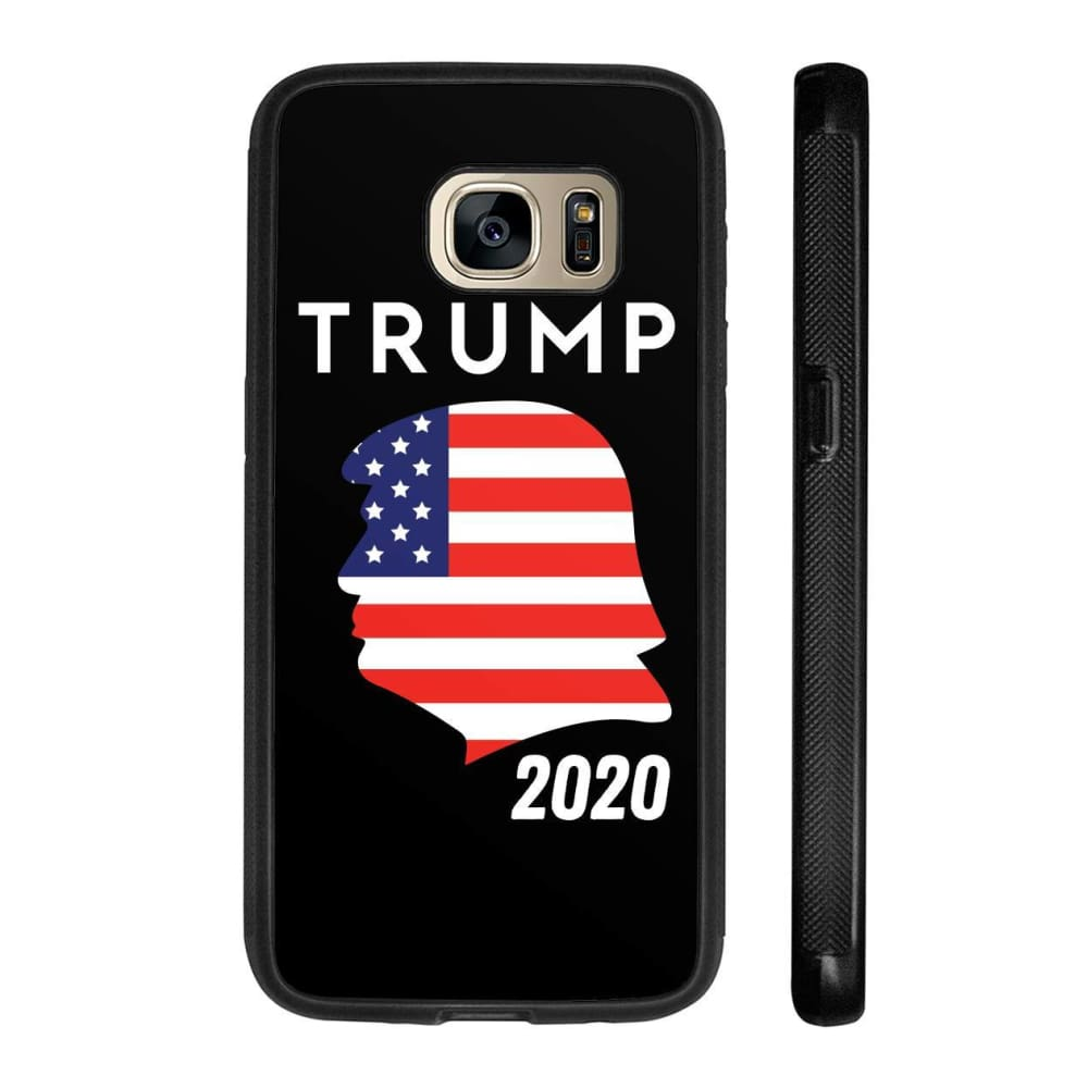 Trump 2020 Silhouette Phone Cases - Black / M / Samsung Galaxy S7 - Phone Cases
