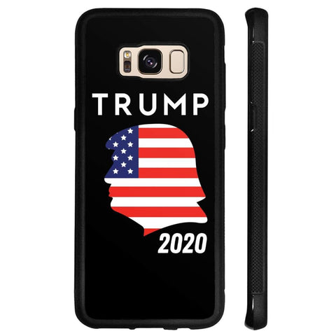 Trump 2020 Silhouette Phone Cases - Black / M / Samsung Galaxy S8 - Phone Cases