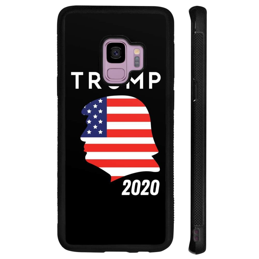 Trump 2020 Silhouette Phone Cases - Black / M / Samsung Galaxy S9 - Phone Cases