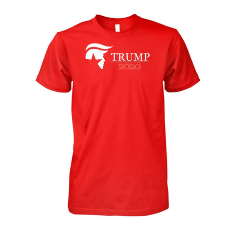 Image of Trump 2020 T-Shirt - Red / S - Apparel