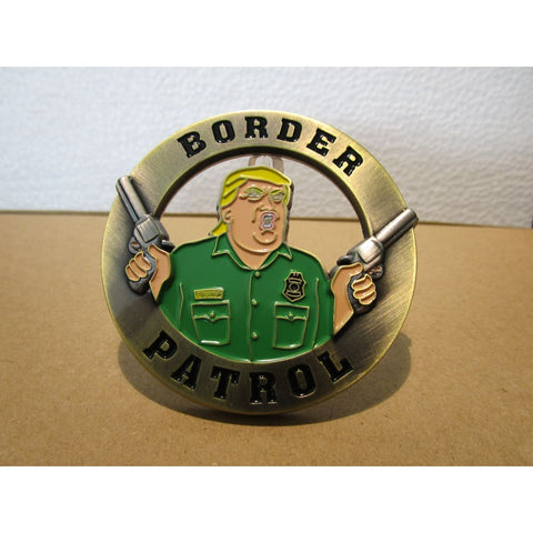 Image of Trump Border Patrol/Field Operations Challenge Coin - RARE