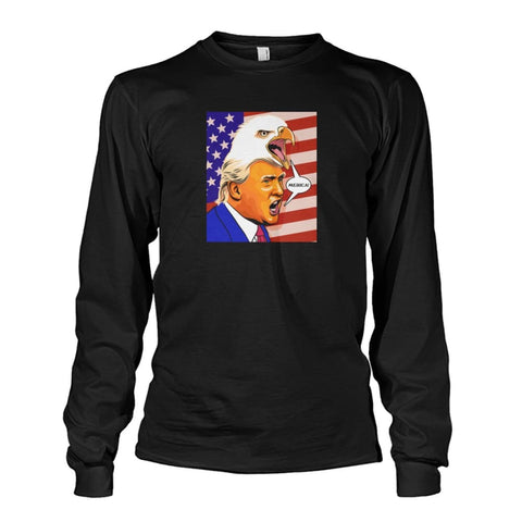 Trump Eagle Hair Long Sleeve - White / S - Long Sleeves