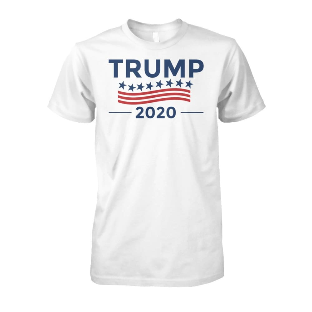Trump for 2020 White T-Shirt - White / S - Short Sleeves