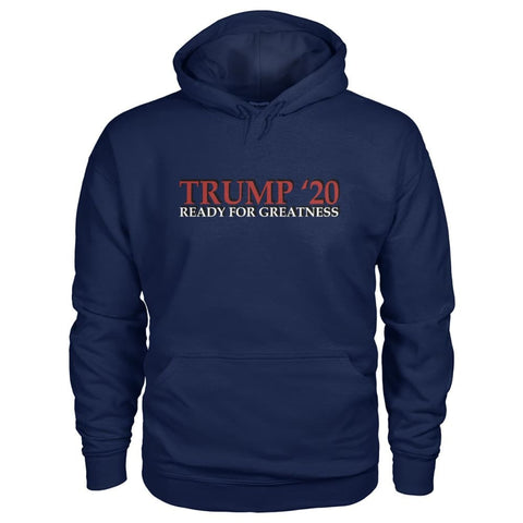 Image of Trump Greatness 2020 Hoodie - Navy / S - Hoodies