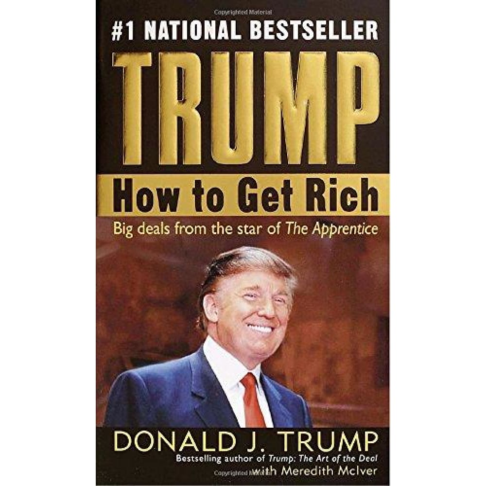 Trump: How To Get Rich (Paperback) - Book