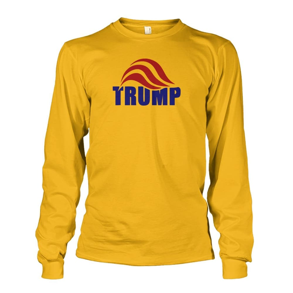 Trump Long Sleeve - Gold / S / Unisex Long Sleeve - Long Sleeves