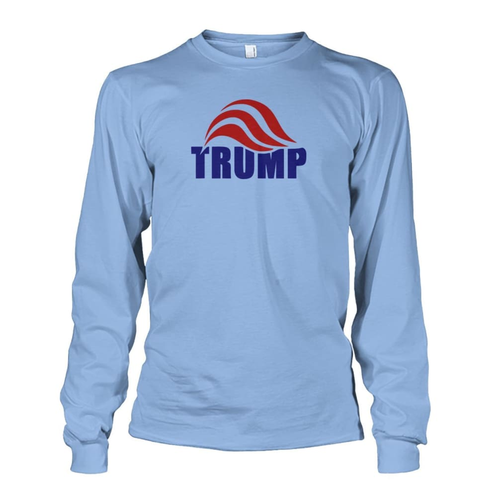 Trump Long Sleeve - Light Blue / S / Unisex Long Sleeve - Long Sleeves
