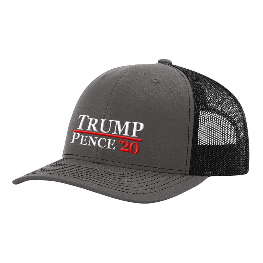 Trump Pence 20 Hat - Charcoal & Black - Hats