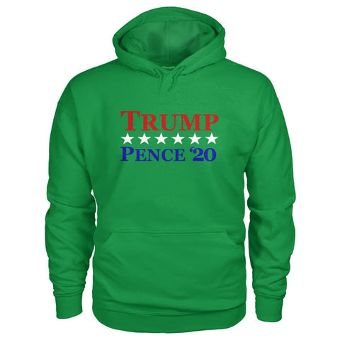 Image of Trump Pence 20 Hoodie - Irish Green / S - Hoodies