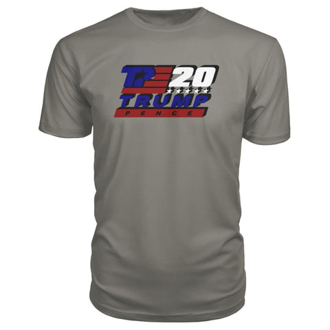 Image of Trump Pence 2020 Premium Tee - Charcoal / S - Short Sleeves