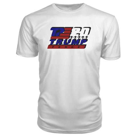 Image of Trump Pence 2020 Premium Tee - White / S - Short Sleeves