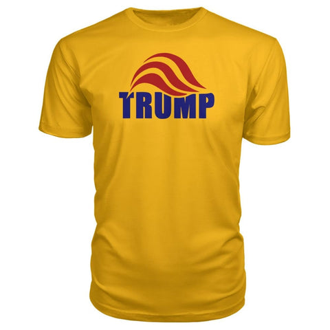 Image of Trump Premium Tee - Gold / S - Short Sleeves