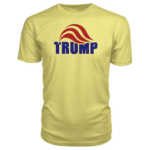 Image of Trump Premium Tee - Spring Yellow / S - Short Sleeves