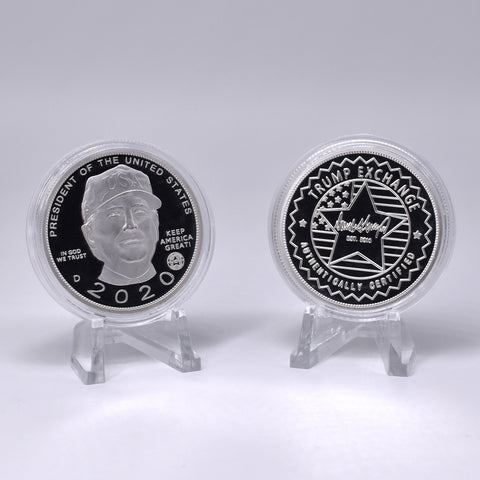 Image of Donald Trump 2020 Silver Coin