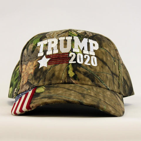 Image of Trump Star 2020 Camo Hat
