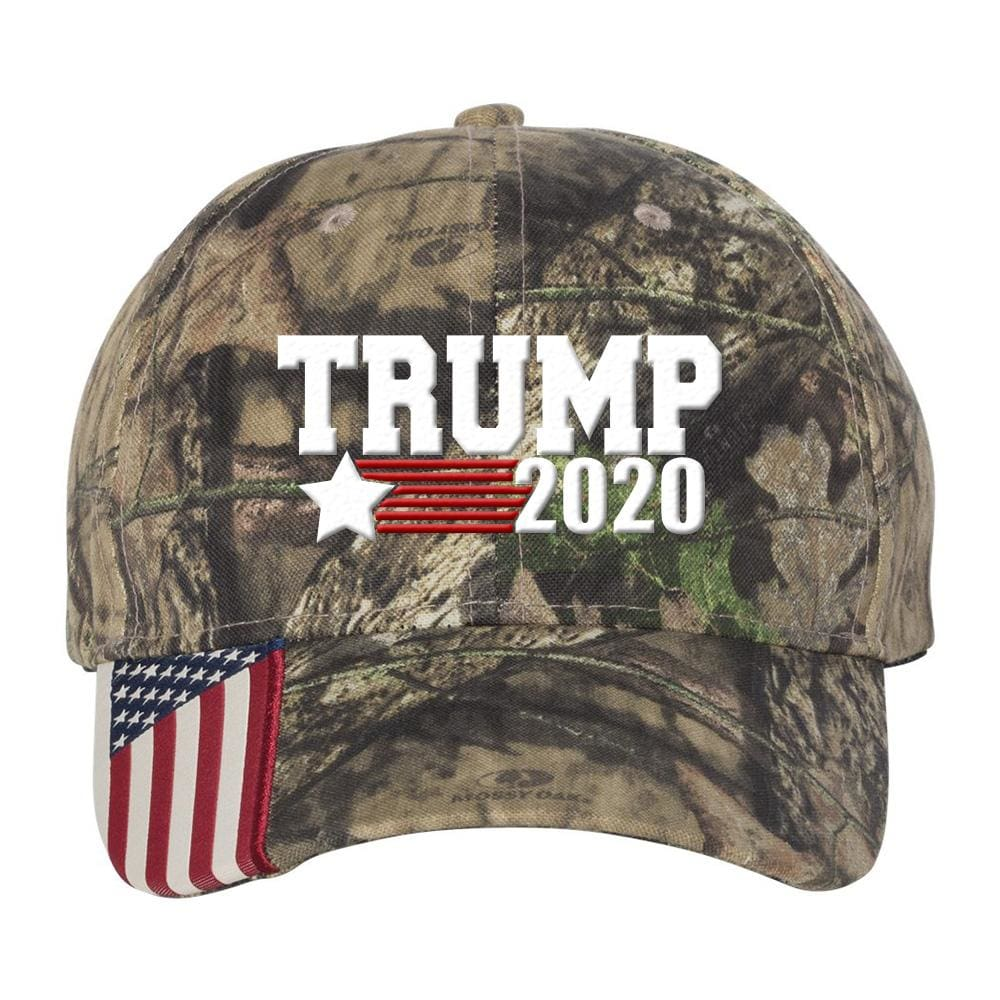 Trump Star 2020 Camo Hat - Mossy Oak Country