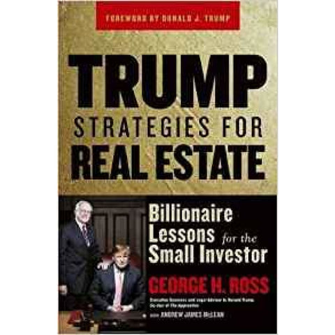 Trump Strategies for Real Estate: Billionaire Lessons for the Small Investor (Paperback) - Book